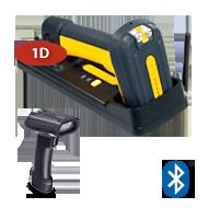 Сканер штрих-кода Datalogic PowerScan PBT7100 BT RS232